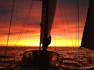 Romantic Valentine's Day Sunset Sailing Cruise title=