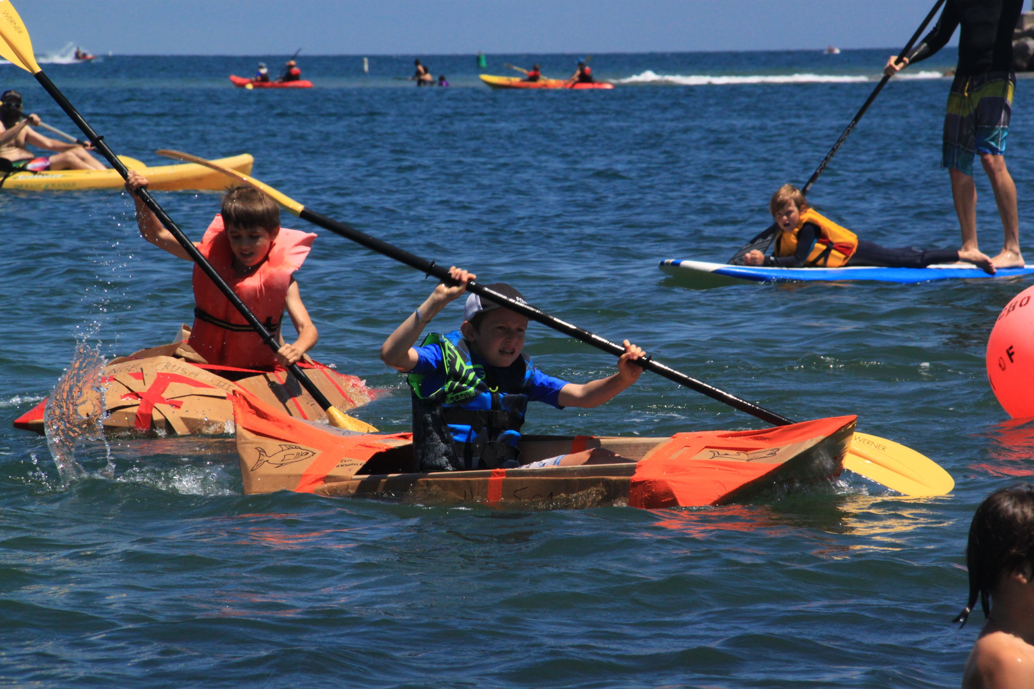 SBMM's Annual Kardboard Kayak Race: A Family Fun Event! title=