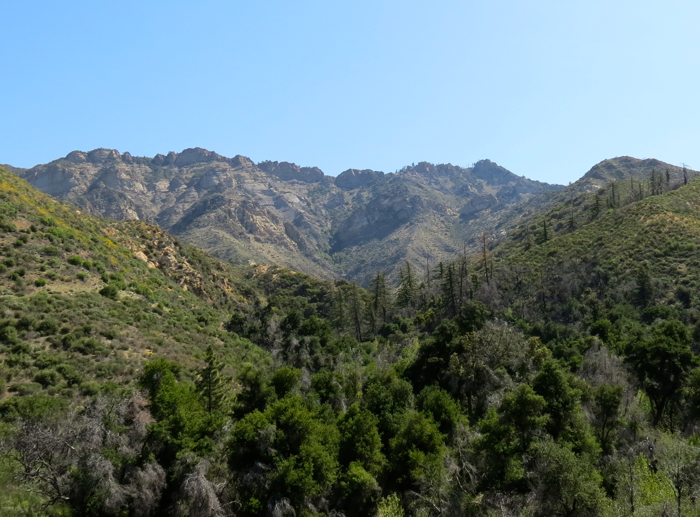 Into the Mountains! Trails and Tales of the Santa Barbara Backcountry title=