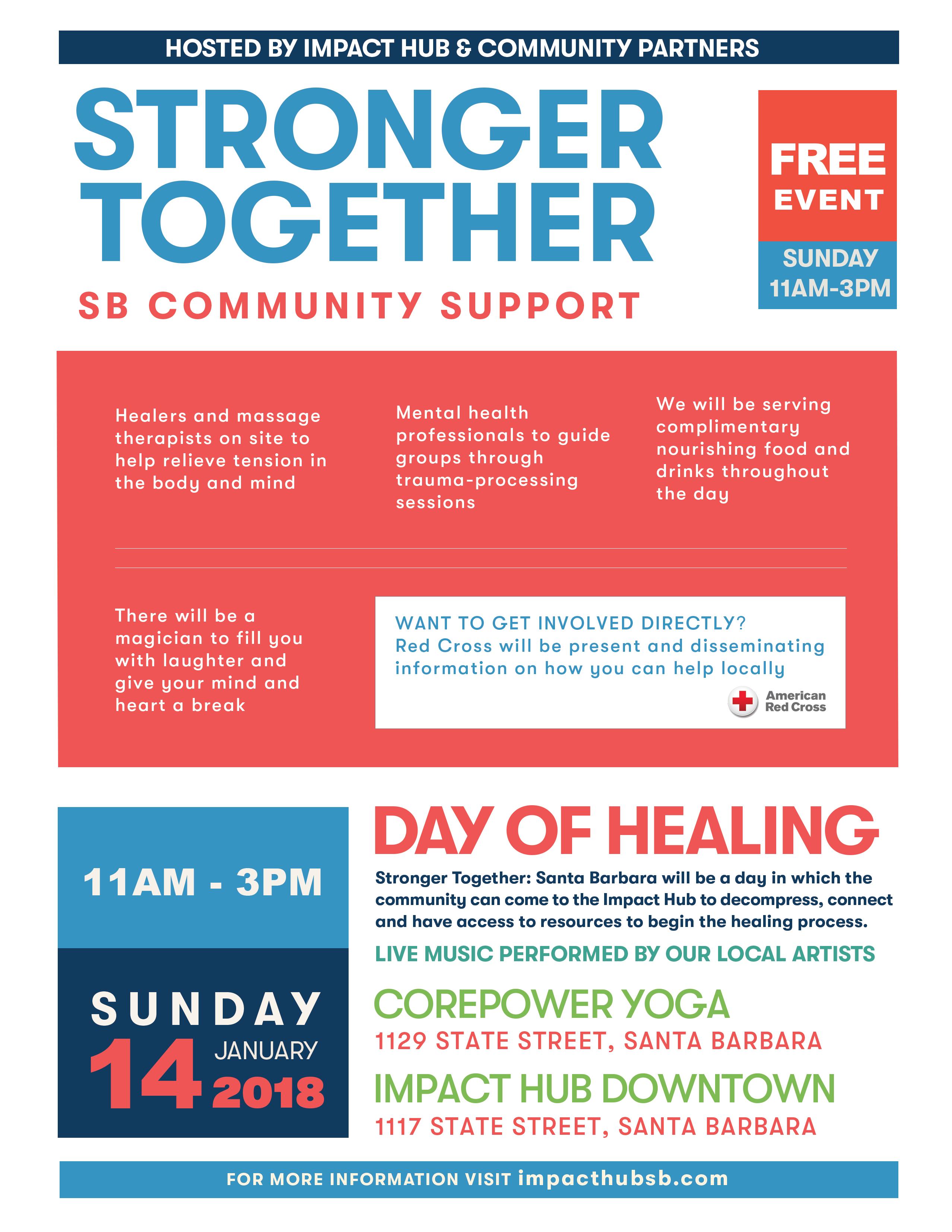 Stronger Together: SB Community Support
