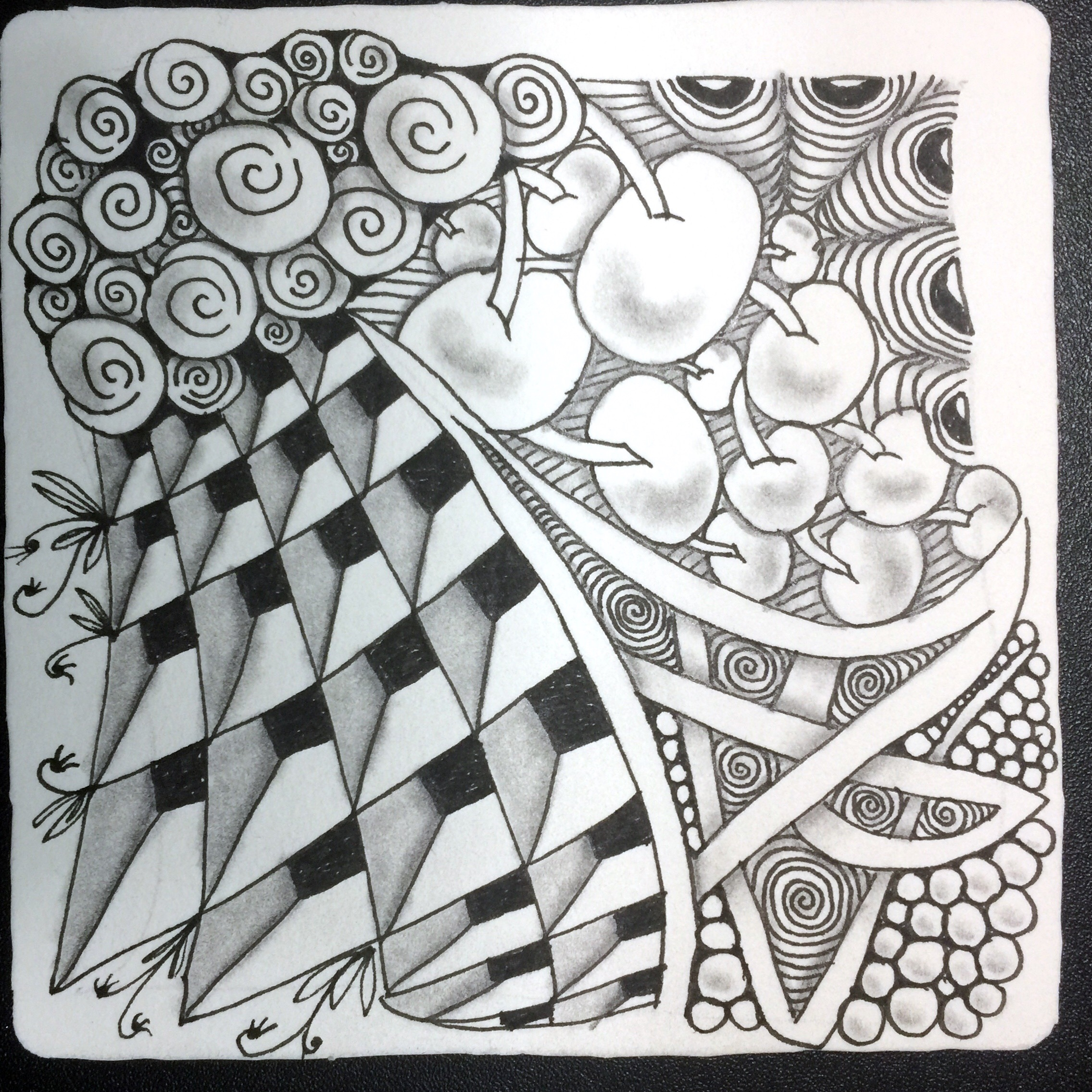 Intro to Zentangle Online Workshop title=