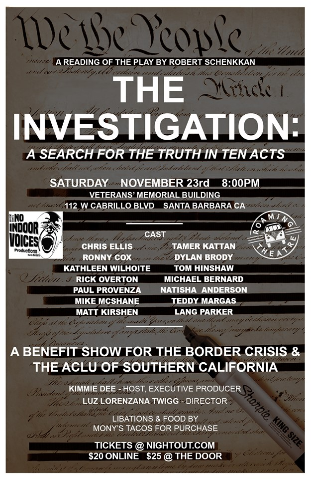 The Investigation: A Search for Truth in Ten Acts title=