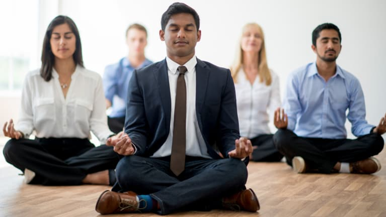 Mindfulness Meditation for Lawyers with Attorney Arnold Jaffe title=