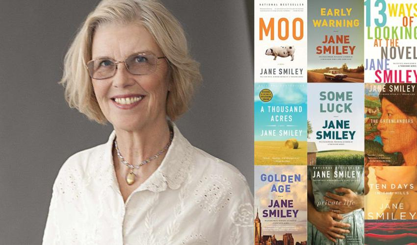 "Parallel Stories Lecture: Jane Smiley ""Love Comes First Beauty Follows"" title="