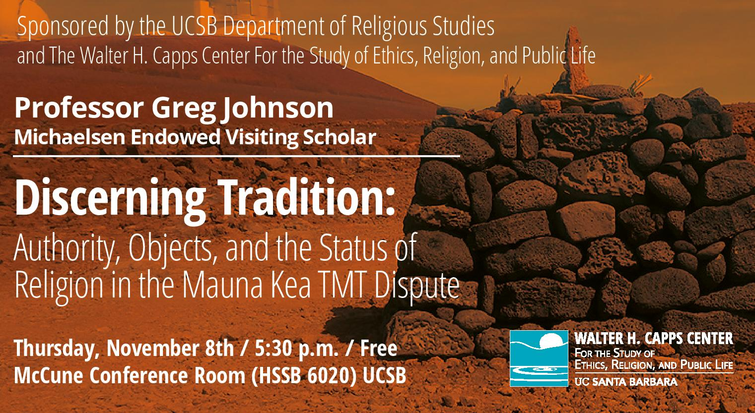 Discerning Tradition: Lecture by Greg Johnson title=