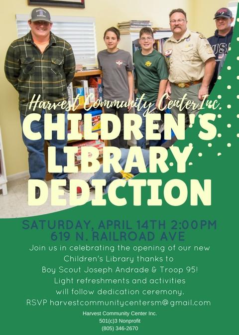 Children's Library Dedication