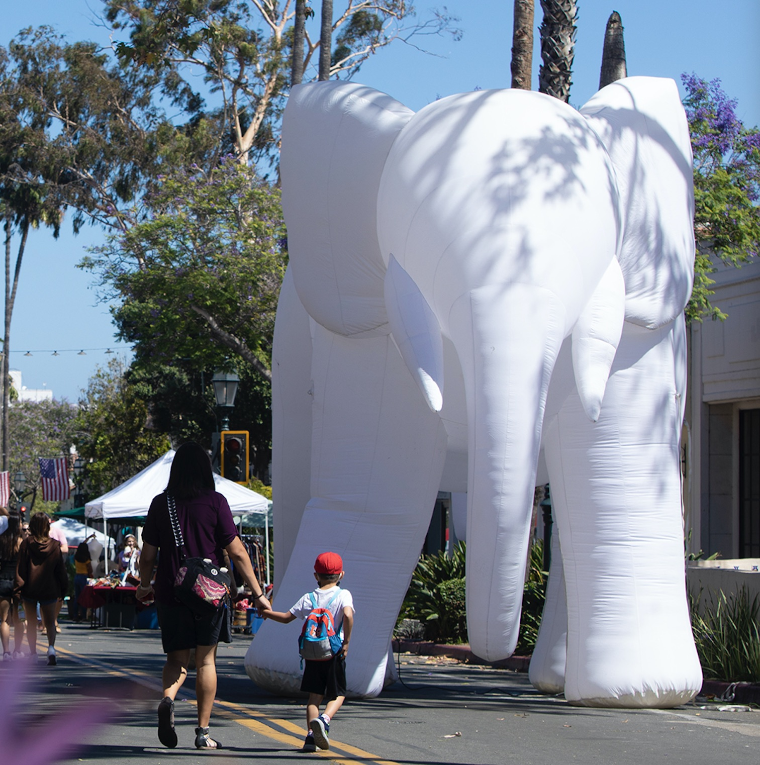 Walkthrough and Artist Talk | Light Elephant title=