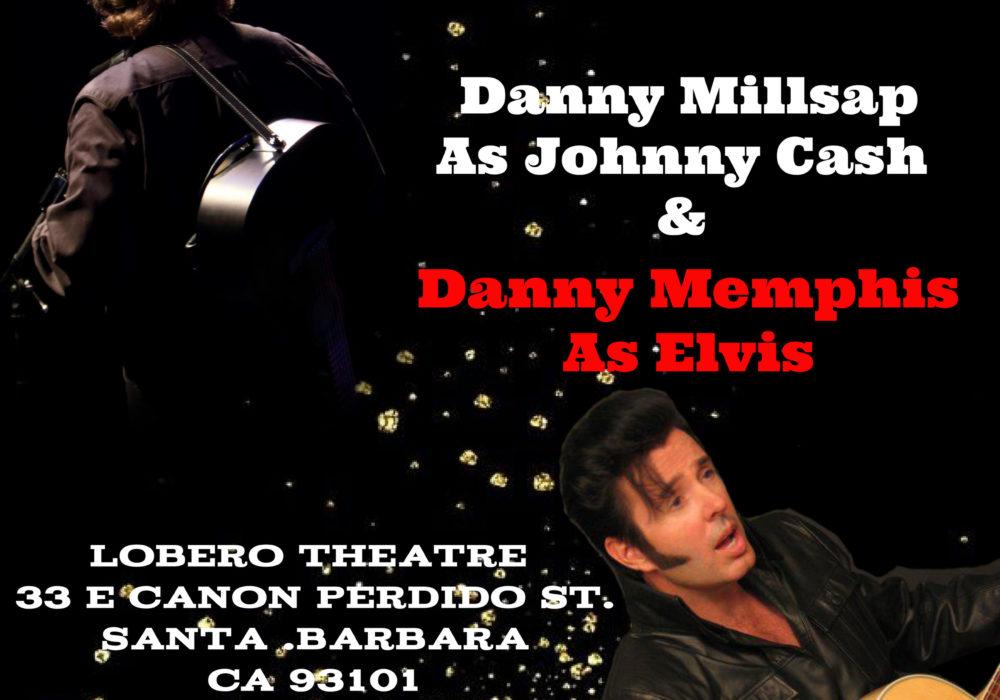 DM PRODUCTIONS PRESENTS A Tribute to Johnny Cash & Elvis Presley title=