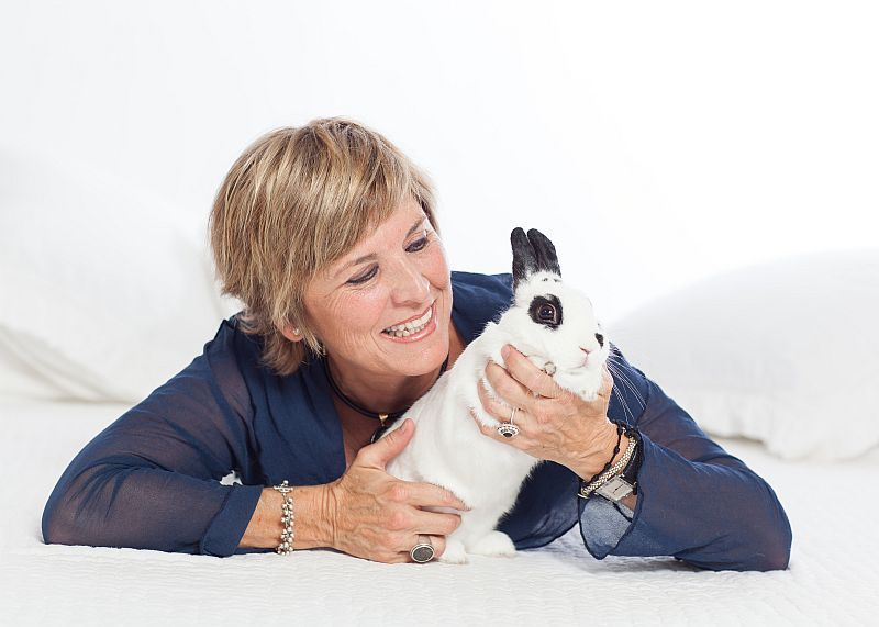 Attention Bunny Lovers! Hop on Over to Chaucer's Bookstore to Meet  Valentino The Love Bunny And Local Author Margarita Fairbanks at Tales and Tea, July 15, 2-4 PM