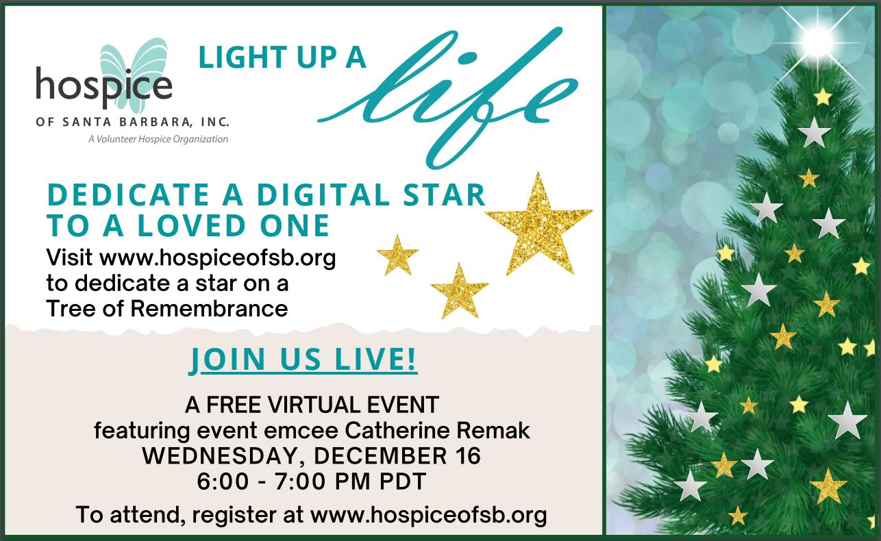Hospice of Santa Barbara's Annual Light Up a Life title=