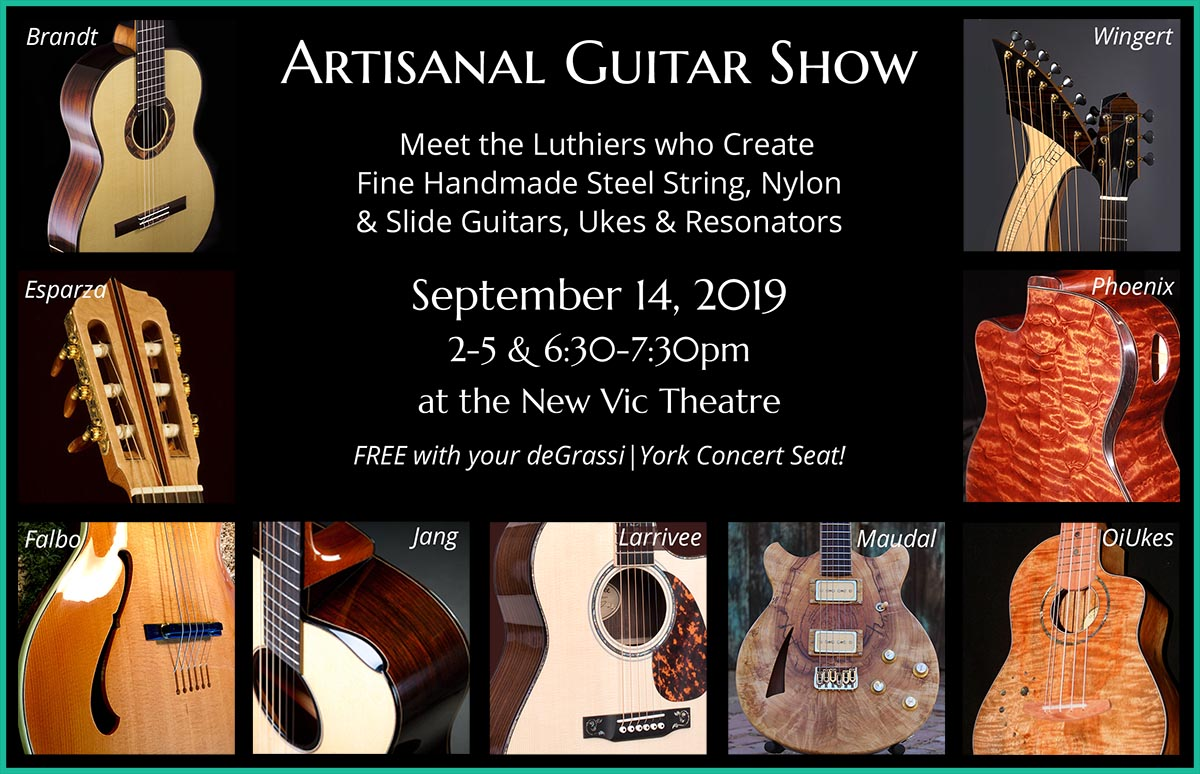 SBAcoustic Handmade Guitar Show title=