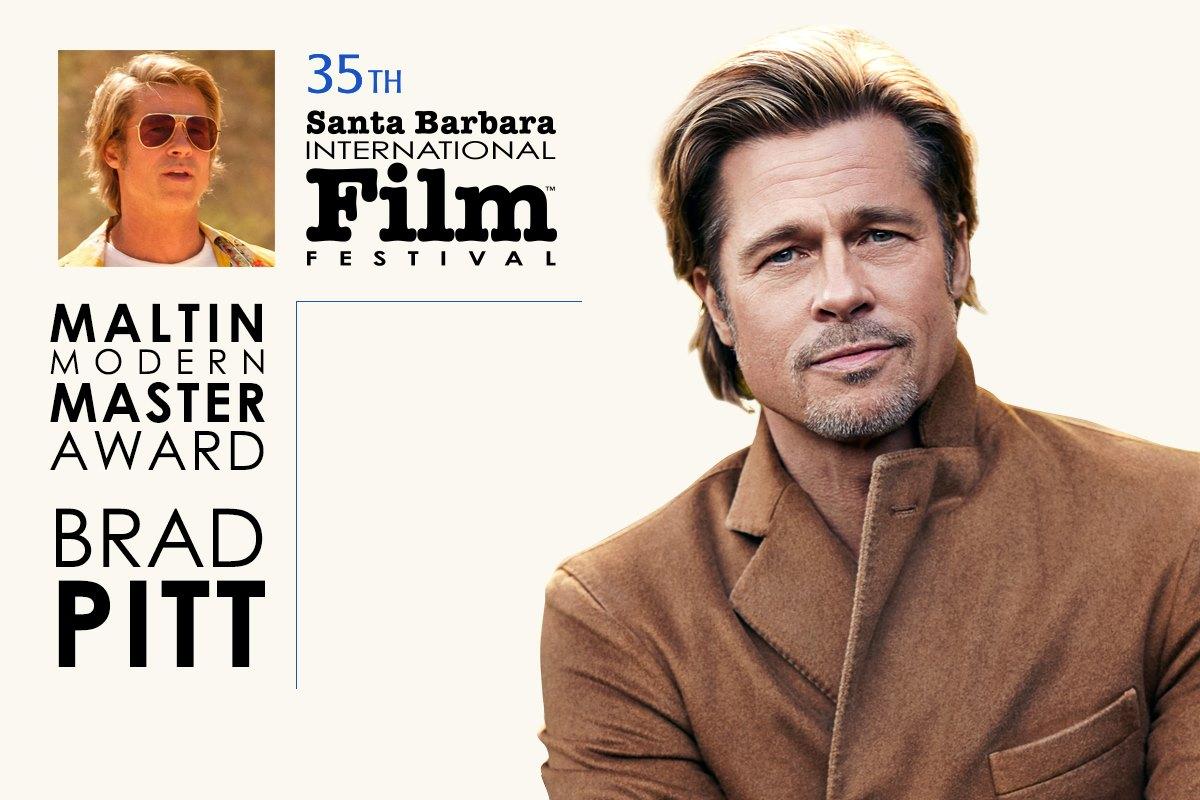Maltin Modern Master Award Award honoring Brad Pitt title=