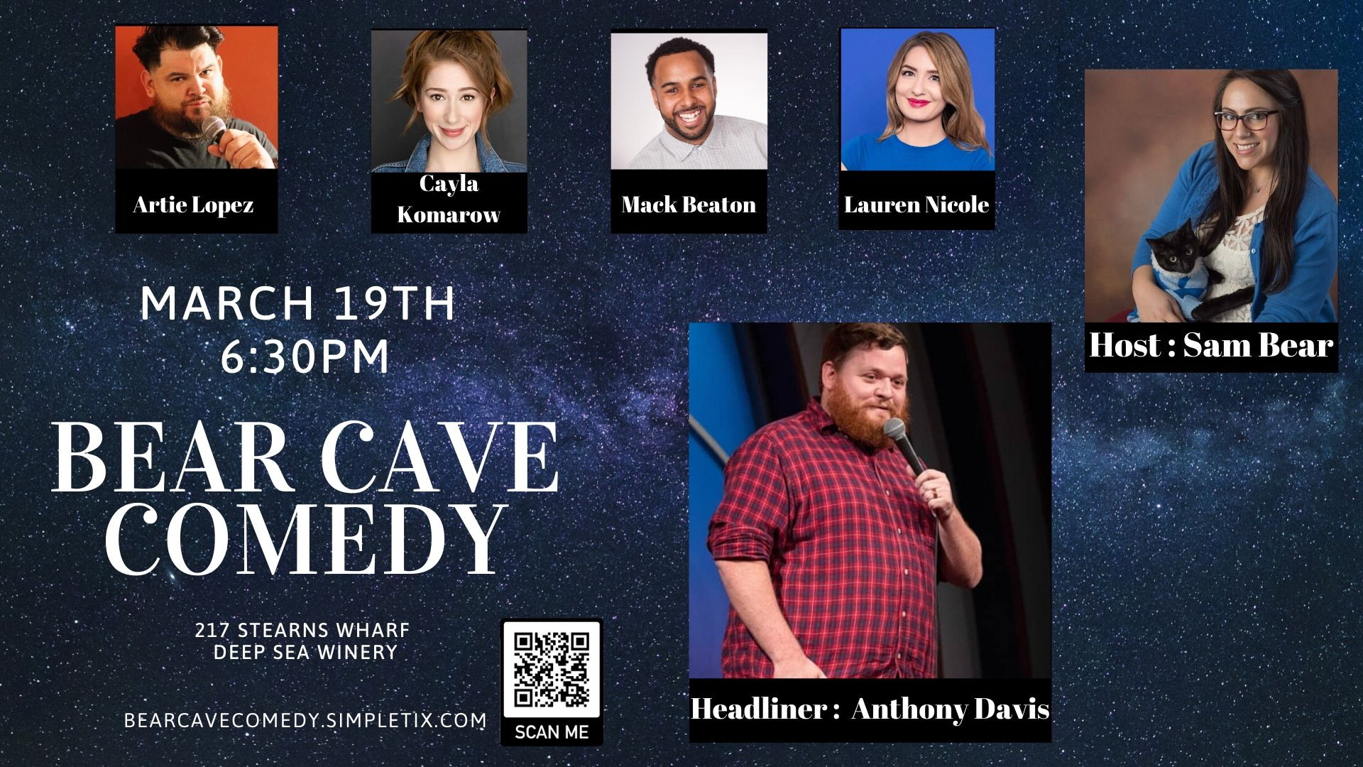 Bear Cave Comedy title=