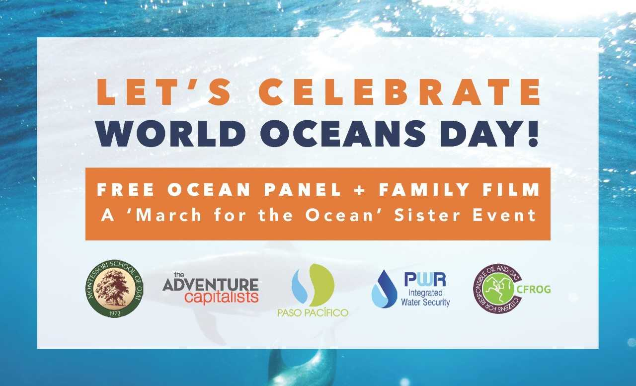 World Oceans Day Celebration – A 'March for the Ocean' Sister Event title=
