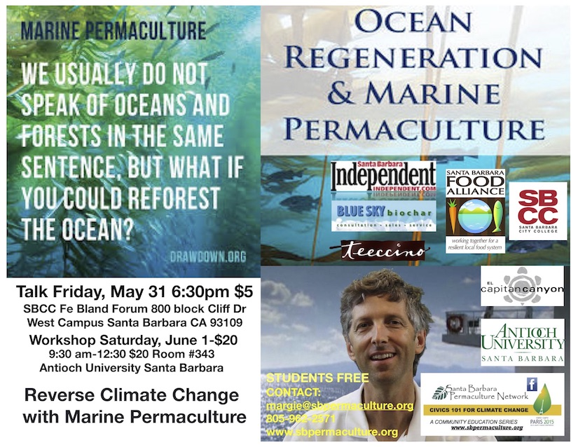 Reverse Climate Change with Marine Permaculture Strategies for Ocean Regeneration  title=