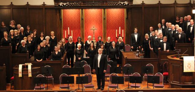 Santa Barbara Master Chorale sings Jubilate Deo & Gloria title=
