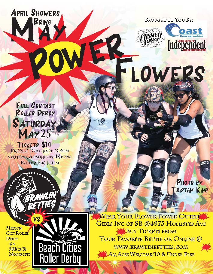 ROLLER DERBY! The BETTIES are back!! Join as at Girls Inc of SB as we take on Beach Cities for some fast-paced, action-packed good times! title=