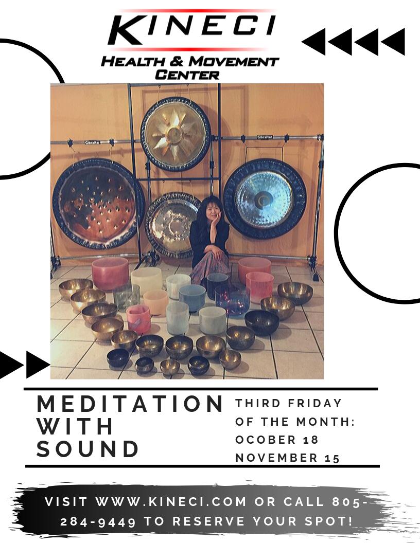 Meditation with Sound - sound healing class