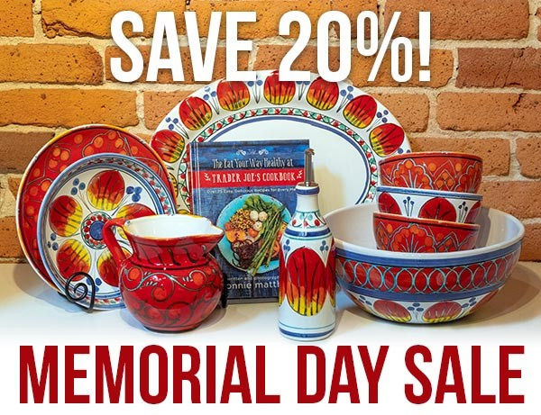 Italian Pottery Outlet Memorial Day Sale