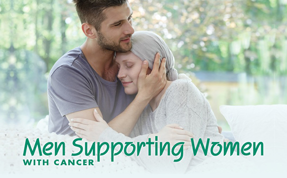 Men Supporting Women with Cancer
