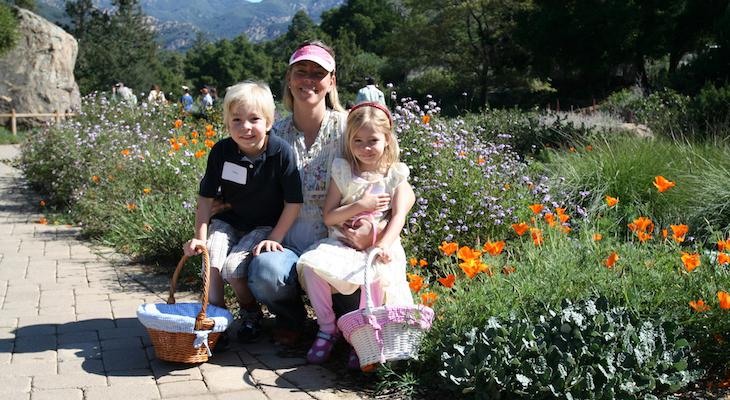 bring a picnic to celebrate mothers day at the santa barbara botanic garden - Santa Barbara Botanic Garden