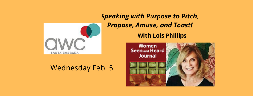 Speaking with Purpose to Pitch, Propose, Amuse, and Toast title=