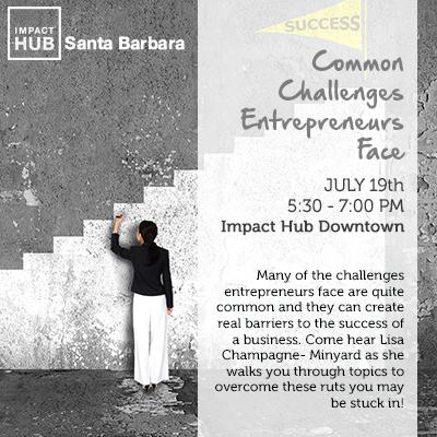 NAWBO Santa Barbara Education Series: Common Challenges Entrepreneurs Face  title=