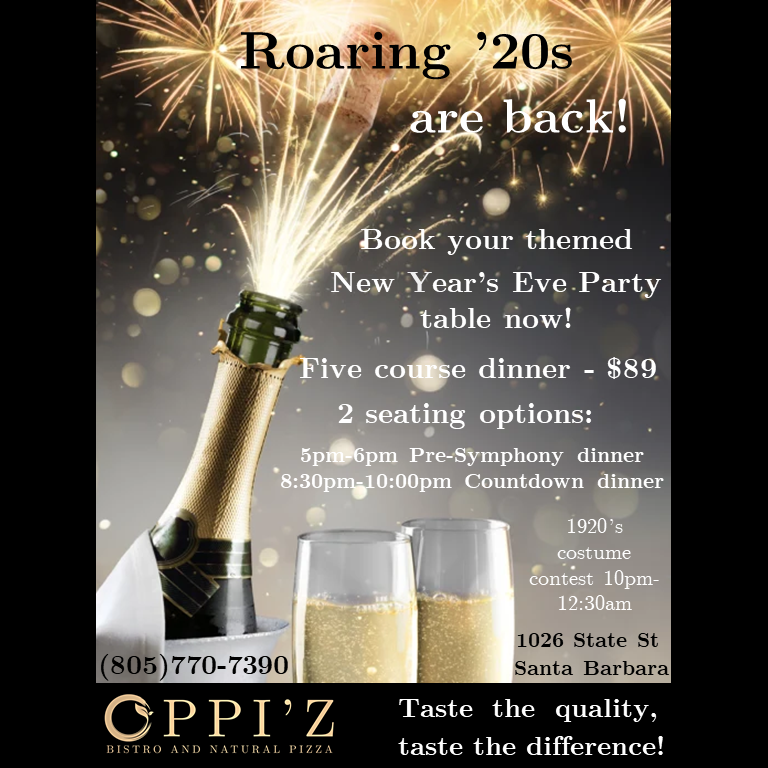 OPPI'Z Roaring '20s themed NYE party title=