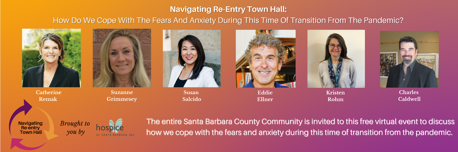 Navigating Re-entry Town Hall: How do we cope with the fears and anxiety during this time of transition from the pandemic?  title=