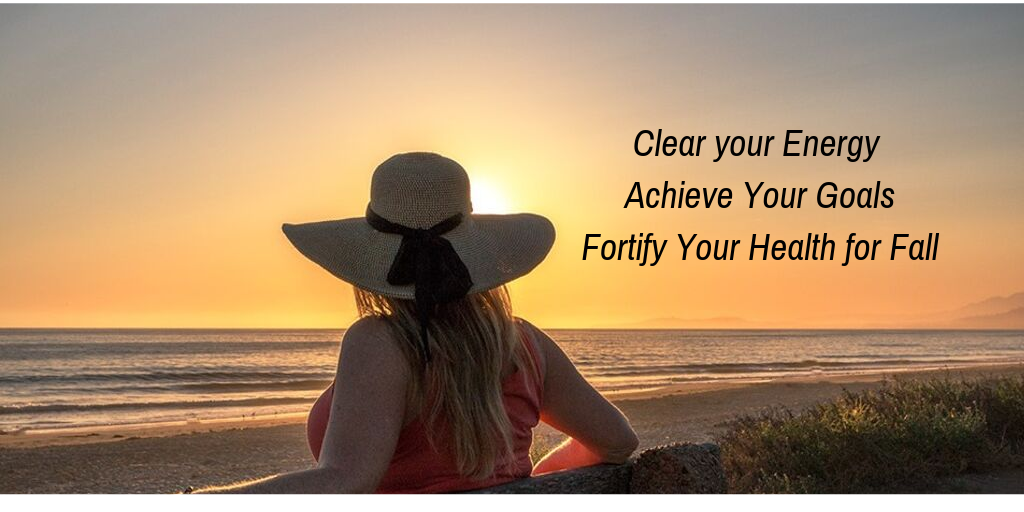 Free: Clear Energy, Achieve Goals + Fortify your Health for Fall title=