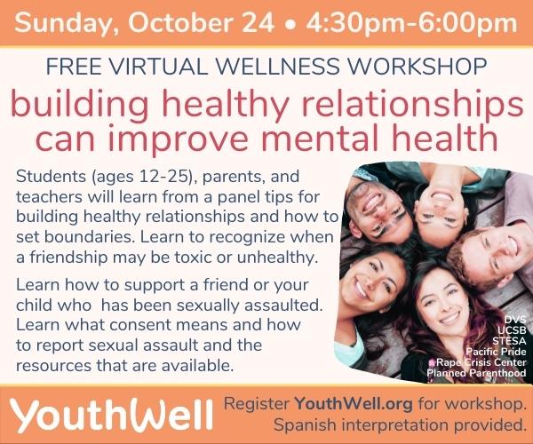YouthWell Virtual Wellness Workshop  title=