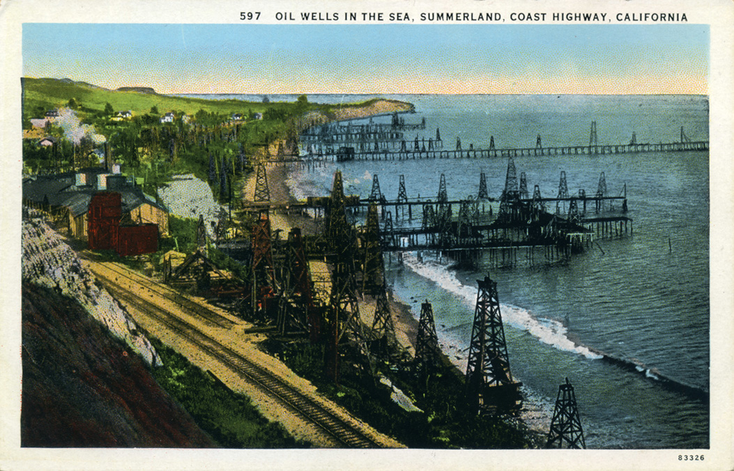 The History of Oil in the Santa Barbara Channel--Opening Reception title=
