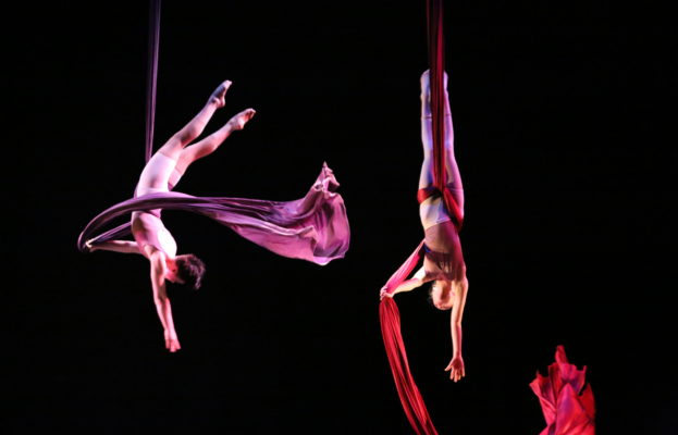 SANTA BARBARA CENTRE FOR AERIAL DANCE PRESENTS On Threaded Wings title=