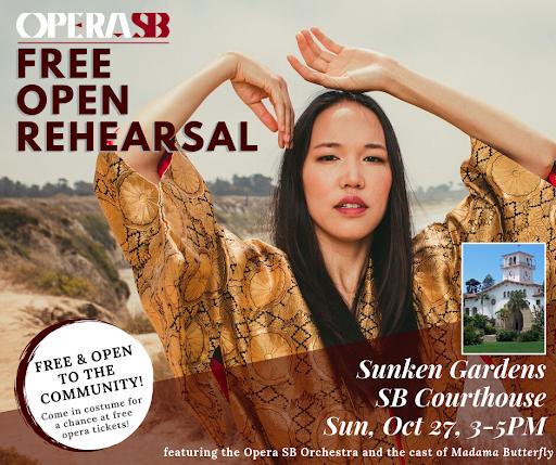 Opera SB's Free Open Rehearsal of Madama Butterfly