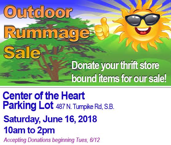 Outdoor Rummage Sale