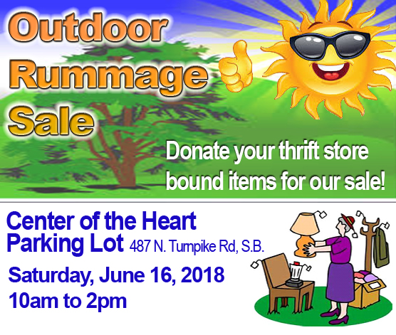 Outdoor Rummage Sale title=