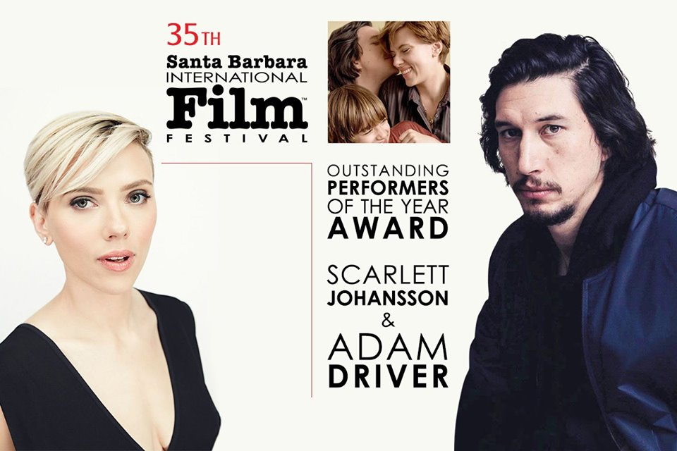 Outstanding Performers of the Year Award honoring Scarlett Johansson & Adam Driver title=