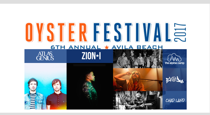 The Sixth Annual Central Coast Oyster & Music Festival