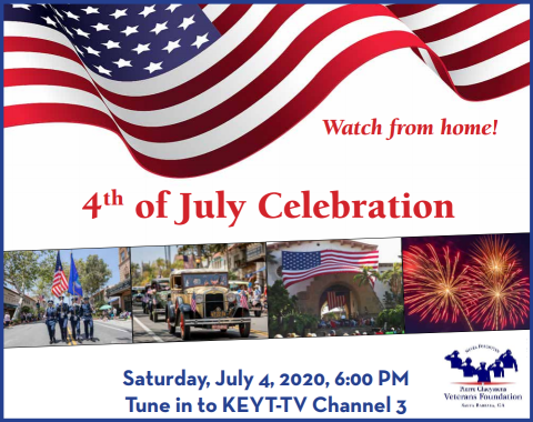 4th of July Celebration with Pierre Claeyssens Veterans Foundation title=