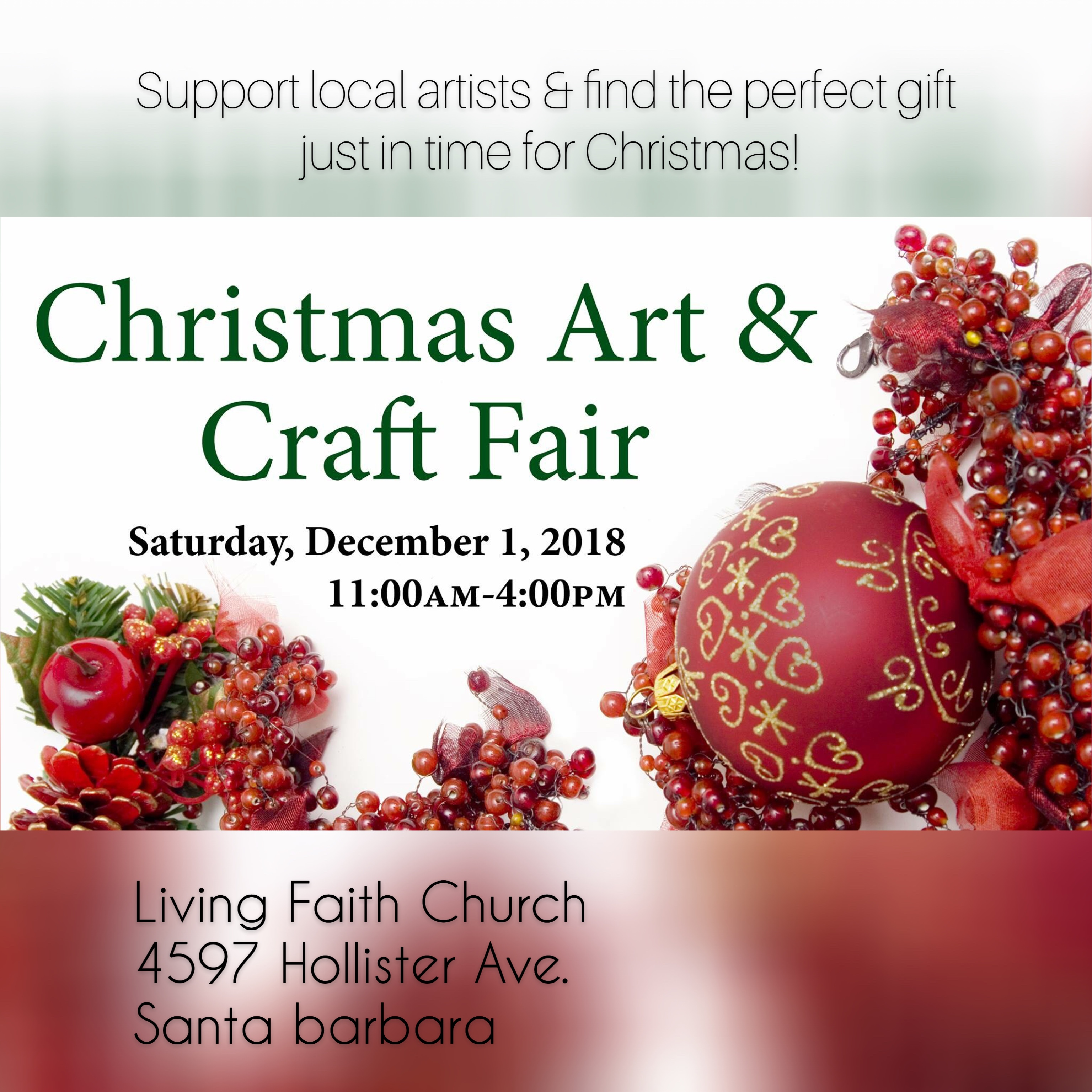Christmas Art & Craft Fair title=