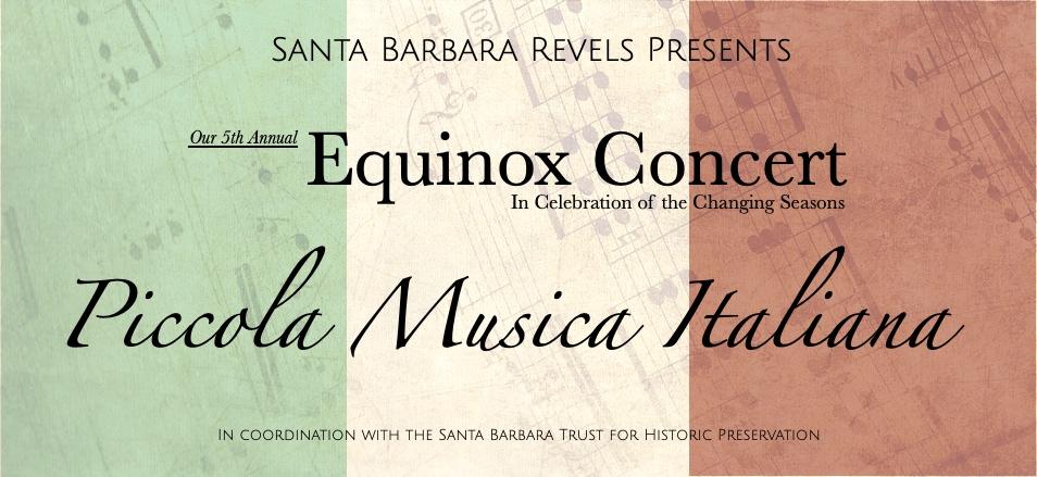 Equinox Concert: Piccola Musica Italiana