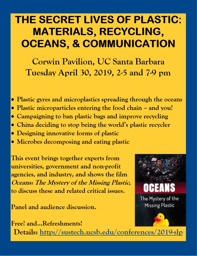 The Secret Lives of Plastic: Materials, Recycling, Oceans, & Communication