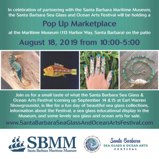 Sea Glass PopUp! Sea Glass & Ocean Arts Festival Preview title=