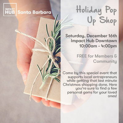 Holiday Pop Up Shop title=