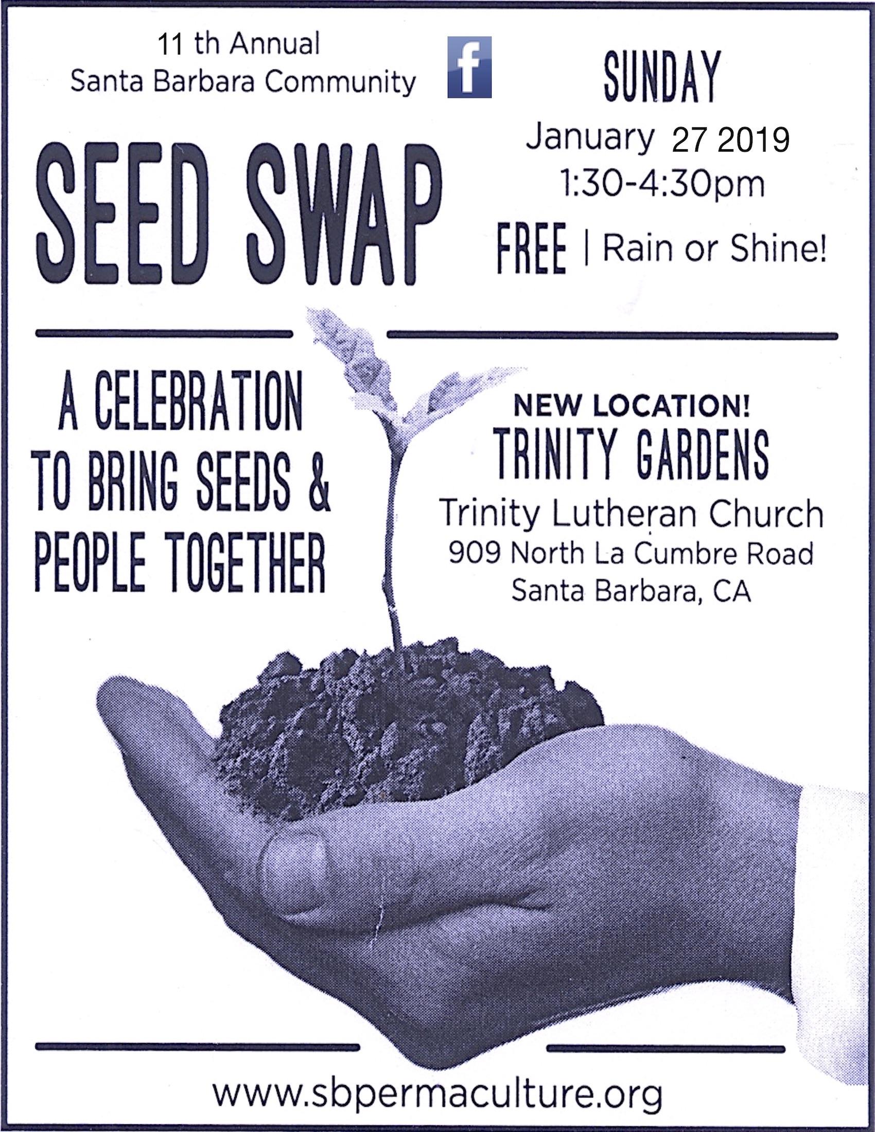 11th Annual Santa Barbara Community Seed Swap title=