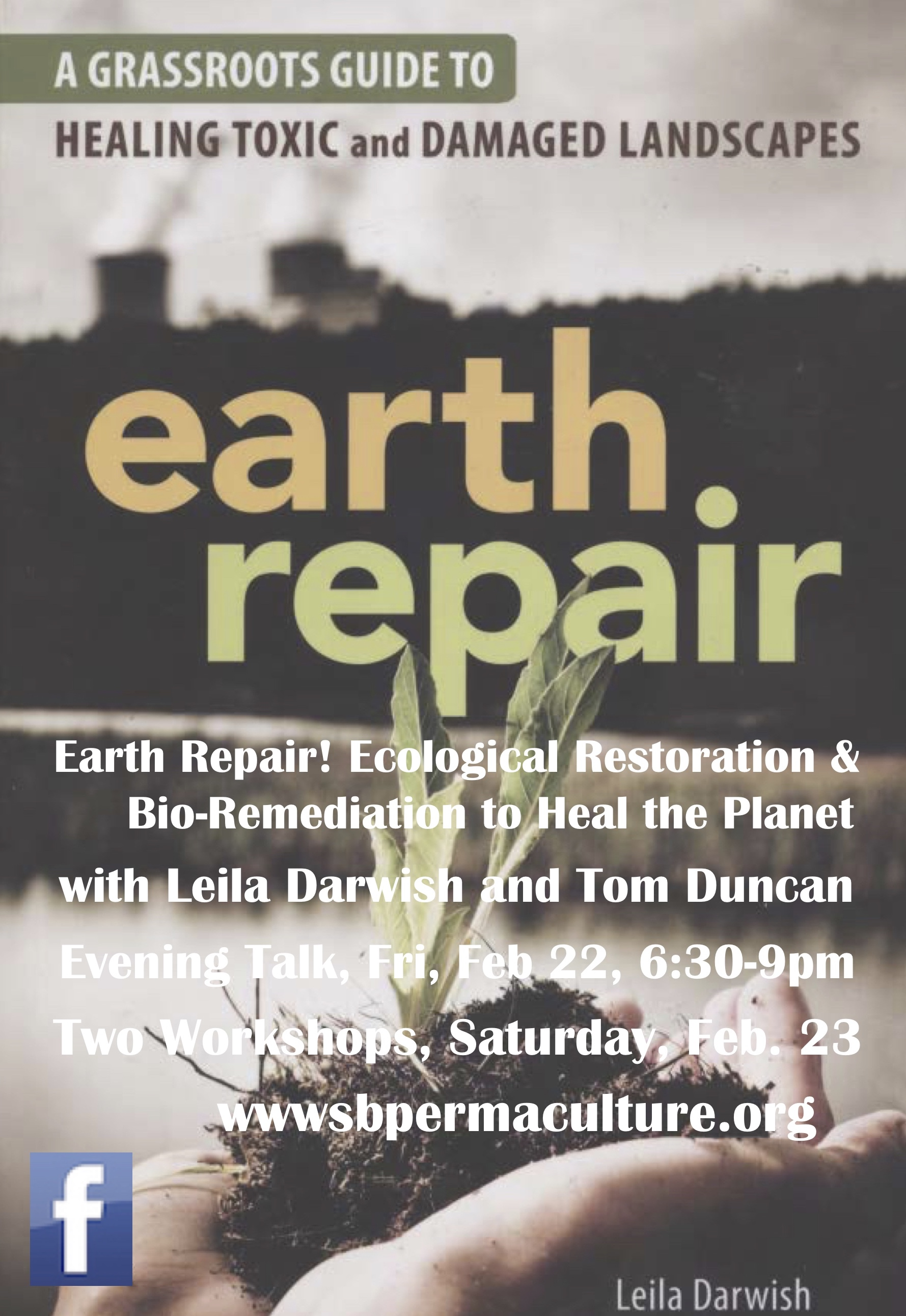 Earth Repair! Ecological Restoration & Bio-Remediation to Heal the Planet   with Leila Darwish and Tom Duncan title=