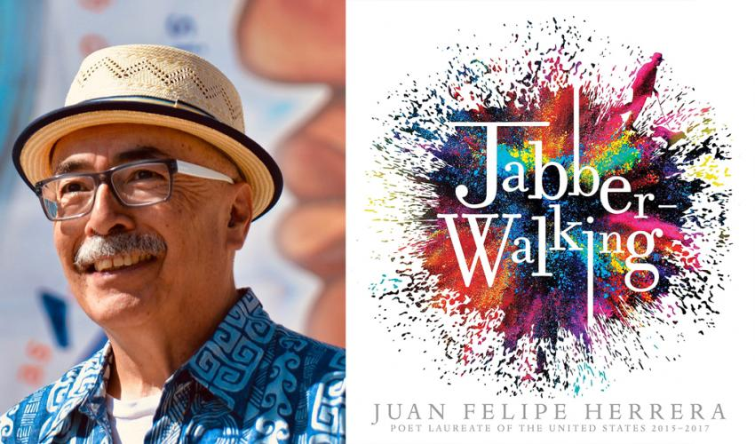 "Parallel Stories Lecture: Juan Felipe Herrera ""Writing Love in the Face of Disaster"" title="