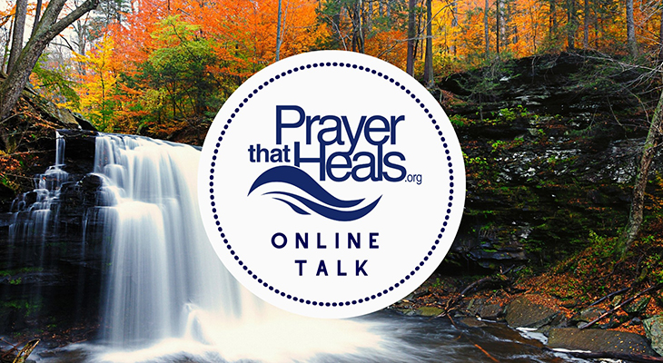 Prayer that Heals Online Talk title=