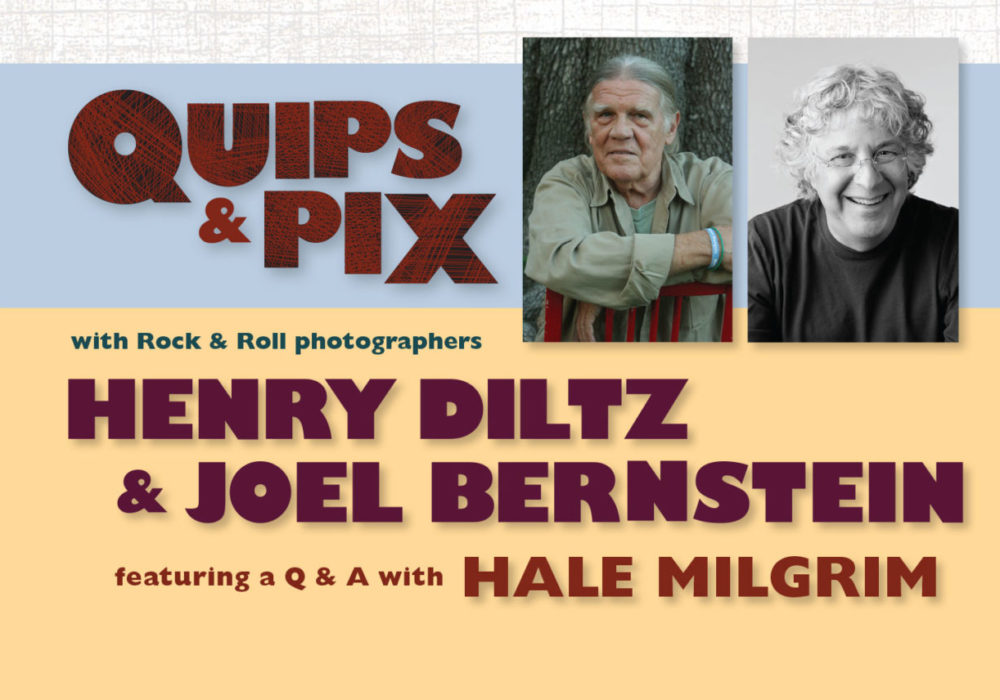 RESCHEDULED: Quips and Pix title=