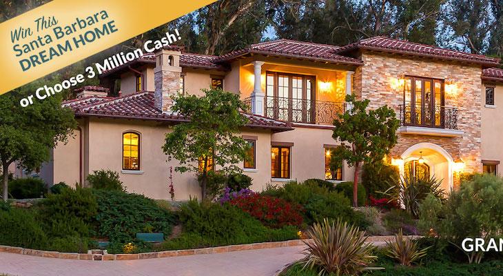 Santa Barbara Dream Home Raffle Tickets On Now
